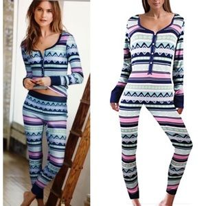 Victoria's Secret The fireside Long Jane Pajama M